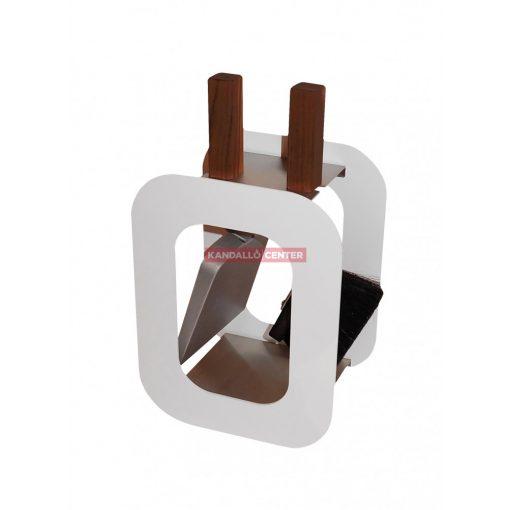 Kandallótisztító szett kocka alakú, fehér, 2 részes