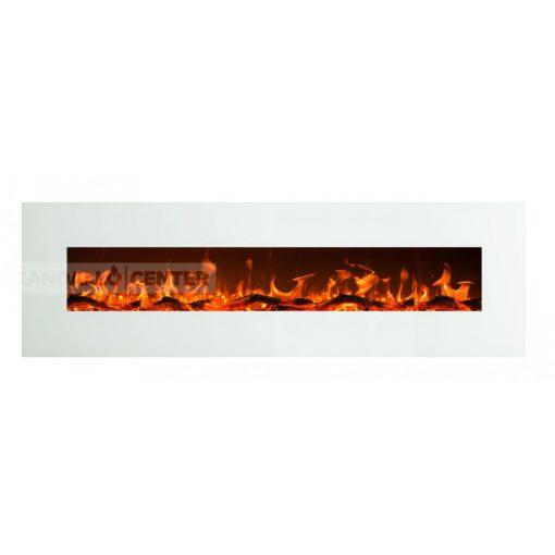 ALIZ 182 Fehér, falra szerelhető elektromos kandalló