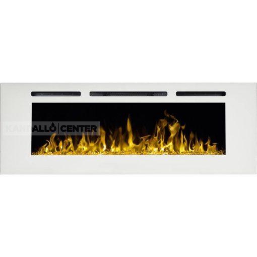 MAJOR 165 Fehér, elektromos kandallóbetét, falra is szerelehető