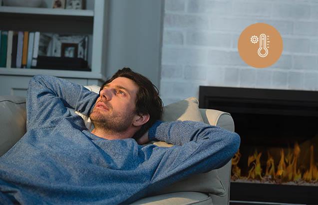 Hatékony fűtési funkció, helyezze magát kényelembe